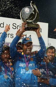 انگلستان کے خلاف سیریز جیتنا سری لنکا کی کامیابیوں کے باب میں ایک اور اضافہ ہے (تصویر: AFP)