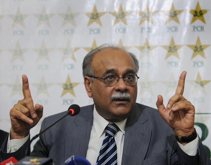 پاکستان کے نجم سیٹھی آئی سی سی ایگزیکٹو کمیٹی کے رکن منتخب ہوئے ہیں (تصویر: AFP)