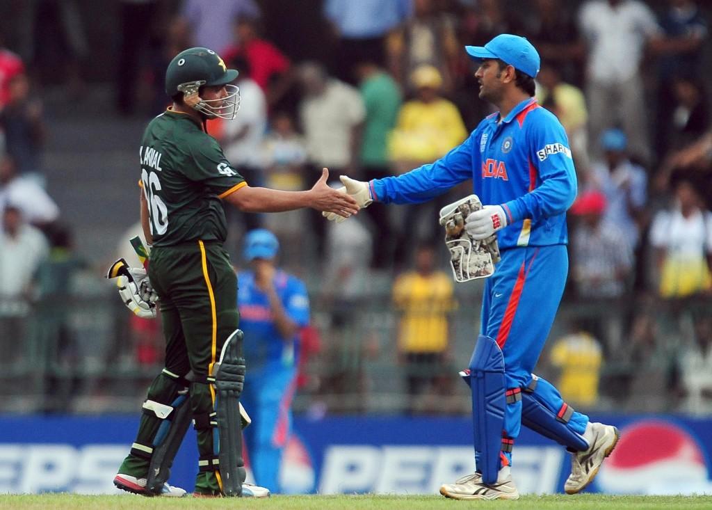 پاکستان و بھارت کے کرکٹ تعلقات گزشتہ کئی سالوں سے منقطع ہیں (تصویر: AFP)