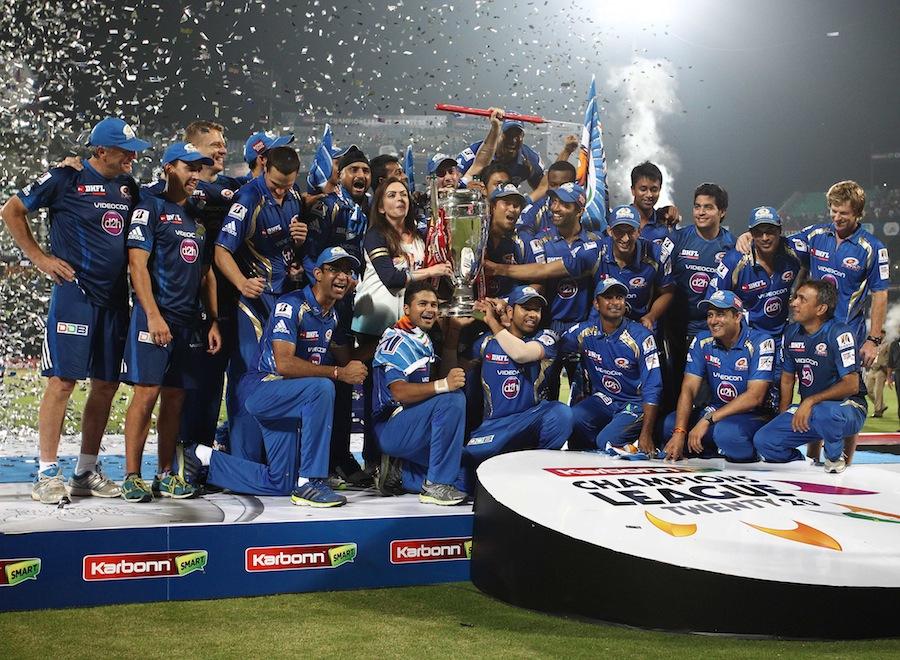 گزشتہ سال چیمپئنز لیگ بھارت میں ہی کھیلی گئی تھی اور ممبئی انڈینز نے اعزاز جیتا تھا (تصویر: BCCI)