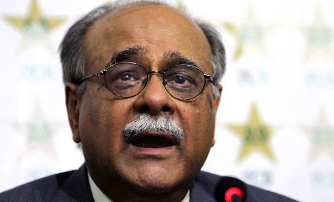 نجم سیٹھی نے چیئرمین کے انتخابات میں حصہ نہ لینے کا فیصلہ کیا ہے (تصویر: AP)