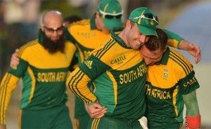 سری لنکا میں تاریخ کی پہلی ون ڈے سیریز جیت جنوبی افریقہ کے لیے خوشیوں کا پیغام لائی ہے (تصویر: AFP)