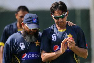 اگر سعید اجمل غیر قانونی باؤلنگ ایکشن کے باعث پابندی کا شکار بنتے ہیں تو پاکستان کی عالمی کپ کی ناقص تیاریوں کو فیصلہ کن ضرب پہنچے گی (تصویر: AFP)