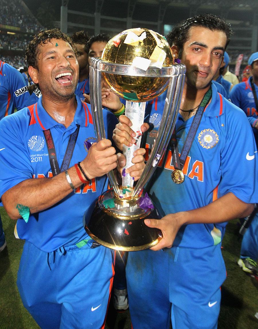 بھارت نے آخری بار 2011ء میں مشترکہ طور پر عالمی کپ کی میزبانی کی تھی، لیکن 2023ء میں پہلی بار وہ تن تنہا میزبان بنے گا (تصویر: Getty Images)