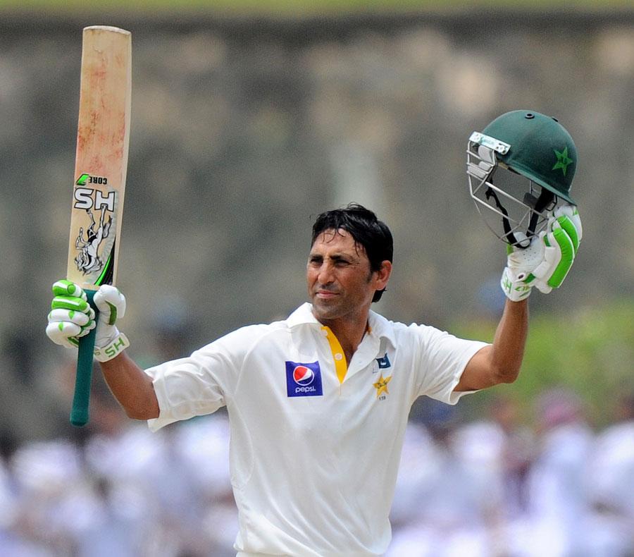 اگر پاکستان گال ٹیسٹ جیت گیا تو یہ یونس خان کے 177 رنز کی مرہون منت ہوگا (تصویر: AFP)