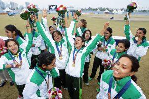 پاکستانی خواتین نے 2010ء میں جیتے گئے اعزاز کا کامیابی سے دفاع کیا (تصویر: Getty Images)
