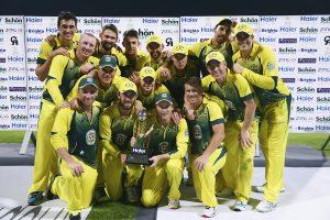 آسٹریلیا نے پاکستان کے خلاف مسلسل چوتھی ون ڈے سیریز جیتی، جن میں سے یہ تیسرا کلین سویپ بھی تھا (تصویر: Getty Images)