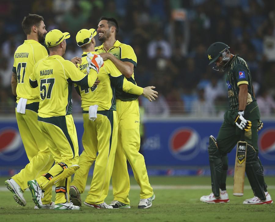 یہ پچھلی آسٹریلیا کے خلاف گزشتہ چار سیریز میں پاکستان کو ملنے والی تیسری کلین سویپ شکست تھی (تصویر: Getty Images)