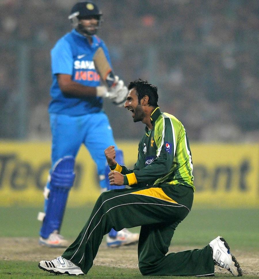 شعیب ملک عالمی لیگ کرکٹ کے خوش قسمت اور پاکستان کے بدقسمت ترین کھلاڑیوں میں سے ایک ہیں (تصویر: BCCI)