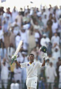 یونس خان 8 ہزار ٹیسٹ رنز بنانے والے صرف تیسرے پاکستانی بیٹسمین ہیں (تصویر: Getty Images)