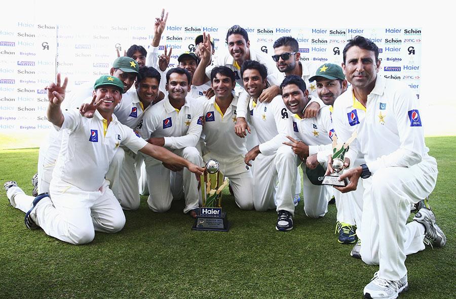 یہ 20 سال بعد پاکستان کی آسٹریلیا کے خلاف پہلی سیریز جیت تھی اور 32 سال بعد پہلا کلین سویپ (تصویر: Getty Images)