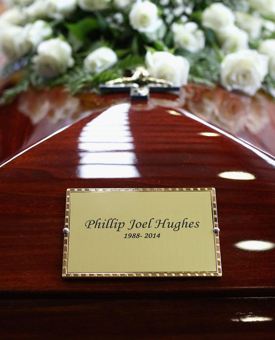 فلپ ہیوز کی آخری رسومات میں دنیا بھر کی کرکٹ شخصیات نے شرکت کی (تصویر: Getty Images)