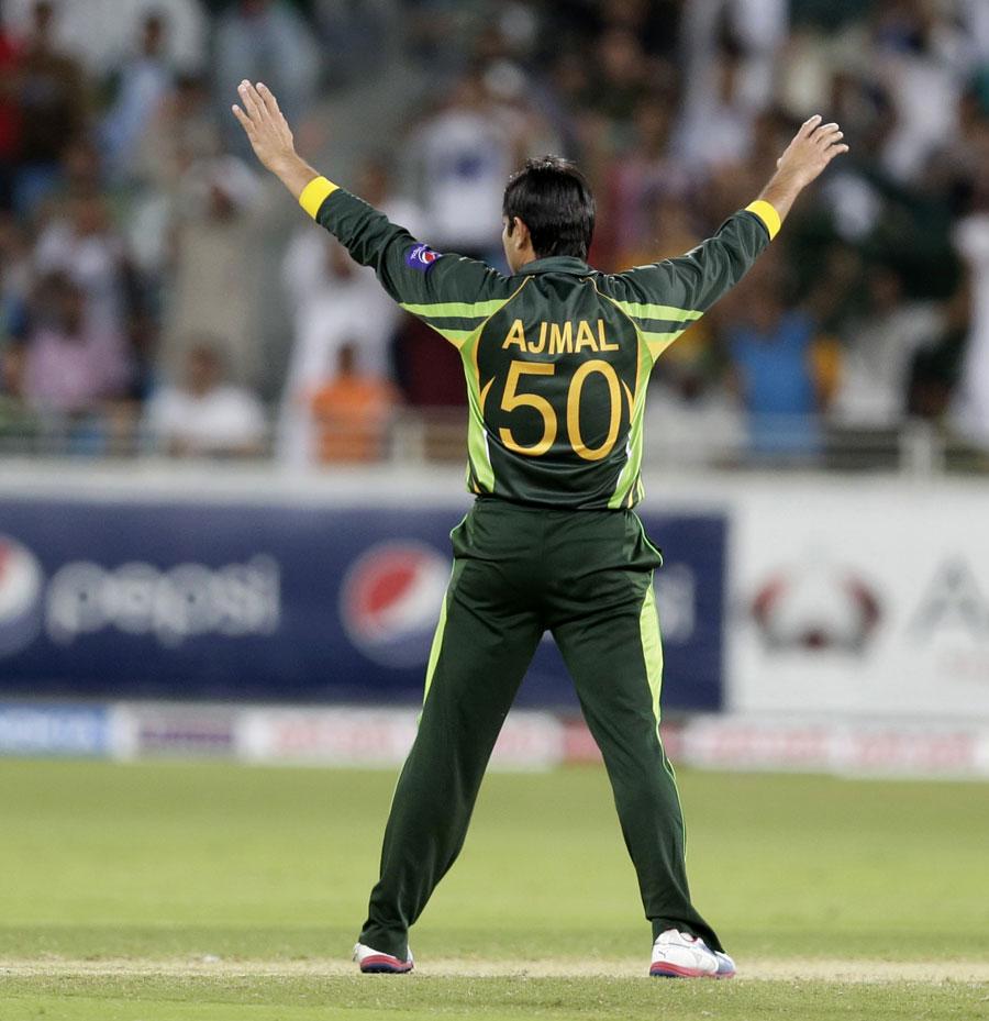 حتمی جانچ کے لیے روانگی سے قبل سعید اجمل کو میدان میں آزمانے کا فیصلہ کیا جا رہا ہے (تصویر: AP)