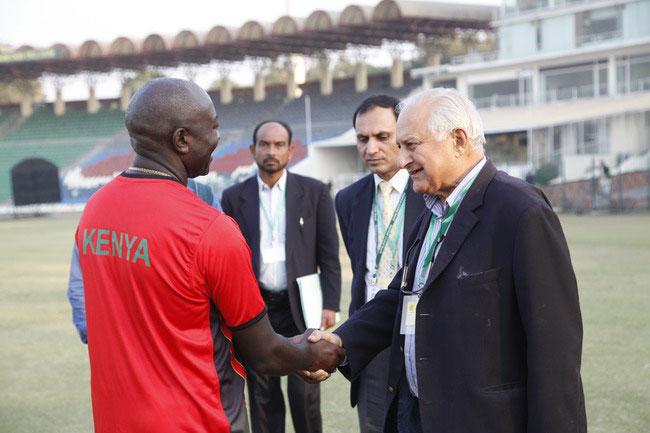 پاکستان میں بین الاقوامی کرکٹ کی واپسی؛ کینیا کی ٹیم لاہور پہنچ گئی