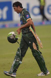 پاکستان مسلسل پانچ ون ڈے مقابلوں میں شکست کے بعد بالآخر جیتنے میں کامیاب ہوا (تصویر: AFP)