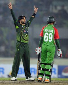 پاکستان نے آخری بار 2011ء میں بنگلہ دیش کا دورہ کیا تھا، اس کے بعد سے اب تک بنگلہ دیش کے کئی وعدوں کے باوجود دونوں ممالک کی کوئی باہمی سیریز نہیں کھیلی گئی (تصویر: AFP)