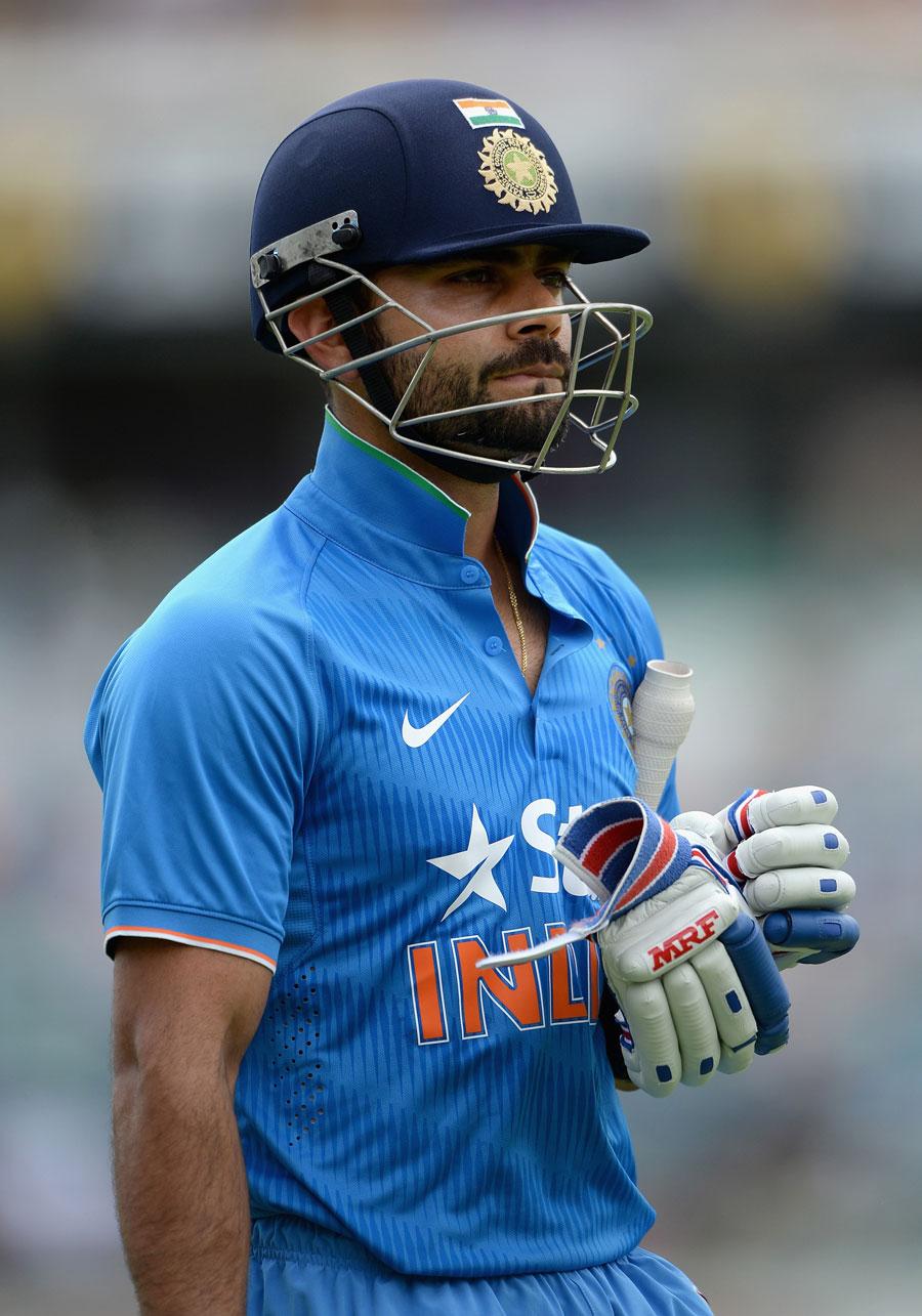 بھارت کے پست حوصلوں کو اب صرف عالمی کپ میں پاکستان کے خلاف جیت ہی بلند کرسکتی ہے (تصویر: Getty Images)