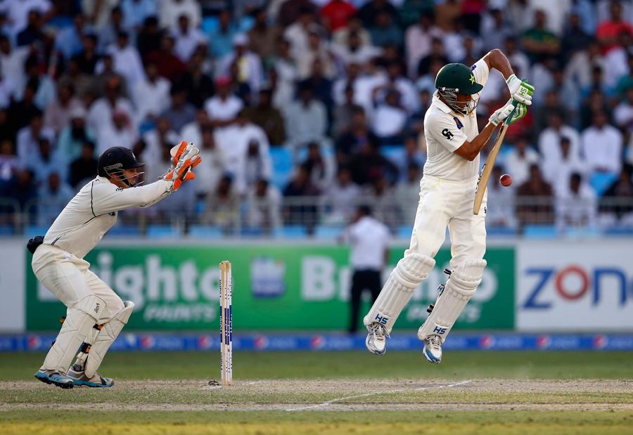 پاکستان کے لیے سال کا آغاز اور اختتام شکست کے ساتھ ہوا لیکن درمیان میں سری لنکا کے خلاف شارجہ ٹیسٹ اور پھر آسٹریلیا کے خلاف دو یادگار فتوحات نمایاں رہیں (تصویر: Getty Images)
