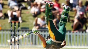 جنوبی افریقہ کو میزبان نیوزی لینڈ نے عالمی کپ سے پہلے سخت تشویش میں مبتلا کردیا ہے (تصویر: Getty Images)