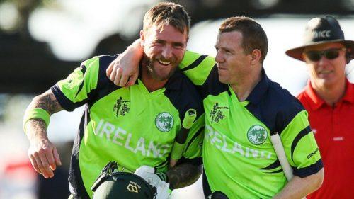 آئرلینڈ نے 305 رنز کا ہدف محض 46 ویں اوور میں حاصل کرکے گروپ کی دیگر ٹیموں کے لیے خطرے کا اعلان کردیا ہے (تصویر: Getty Images)