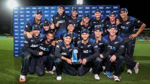 نیوزی لینڈ کی شاندار فتوحات کا سلسلہ جاری ہے اور اب وہ عالمی کپ میں تسلسل کو جاری رکھنے کا خواہاں ہے (تصویر: Getty Images)