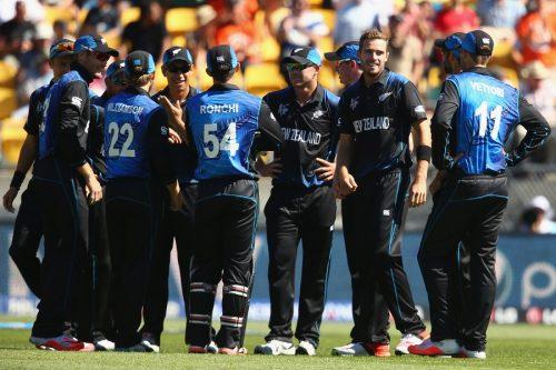 نیوزی لینڈ کو اب صرف ایک ہی سخت حریف کا مقابلہ کرنا ہے، وہ ہے آسٹریلیا۔ اس کے بعد باقی دو میچز افغانستان اور بنگلہ دیش کے خلاف ہیں (تصویر: Getty Images)