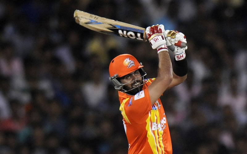 Ahmed Shehzad of Lahore Lions bats during the qualifier 2 match of the Oppo Champions League Twenty20 between the Mumbai Indians and the Lahore Lions held at the Chhattisgarh International Cricket Stadium, Raipur, India on the 13th September 2014  Photo by:  Pal Pillai / Sportzpics/ CLT20   Image use is subject to the terms and conditions as laid out by the BCCI/ CLT20.  The terms and conditions can be downloaded here:   http://sportzpics.photoshelter.com/gallery/CLT20-Image-Terms-and-Conditions-2014/G0000IfNJn535VPU/C0000QhhKadWcjYs