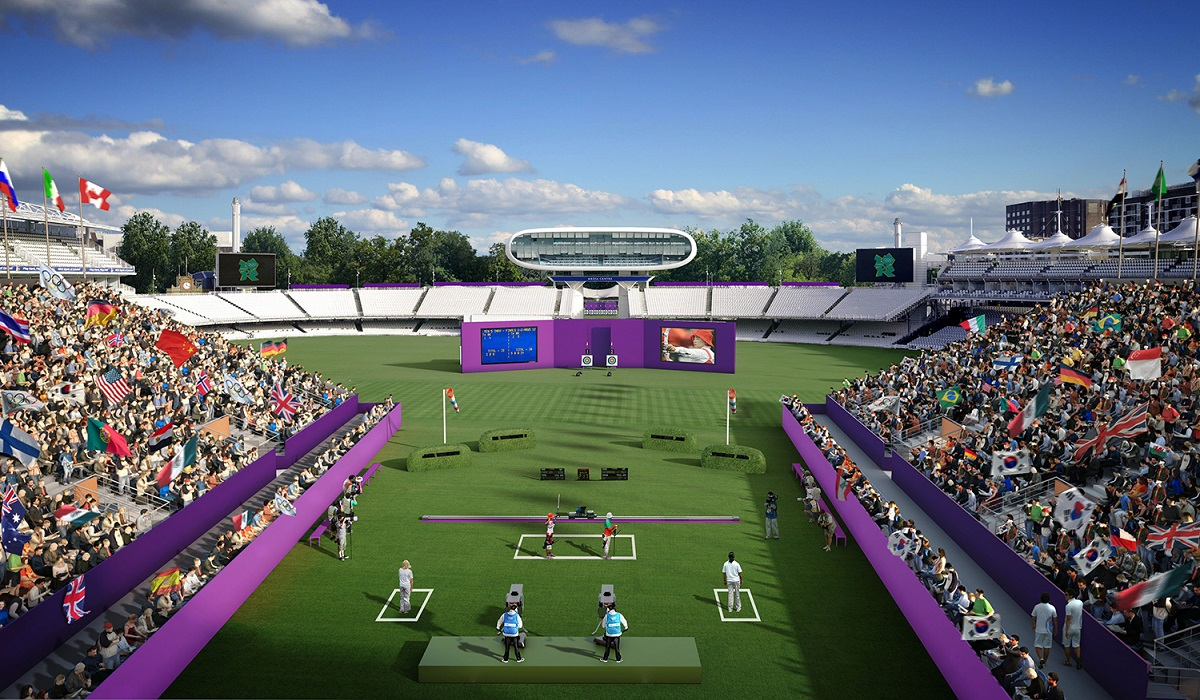 جب 2012ء میں لندن میں اولمپکس ہوئے تب لارڈز کا میدان تیر اندازی کے مقابلوں کی میزبانی کرتا رہا